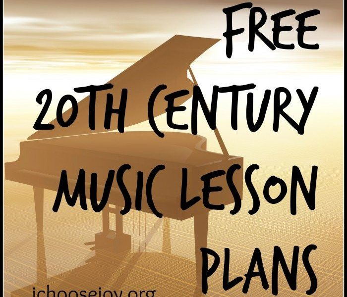 Free Lessons and Printables for 20th Century Music Appreciation (plus coupon code to online course)