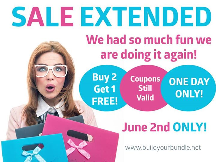 One More Chance for Build Your Bundle Sale! Ends June 2, 2015