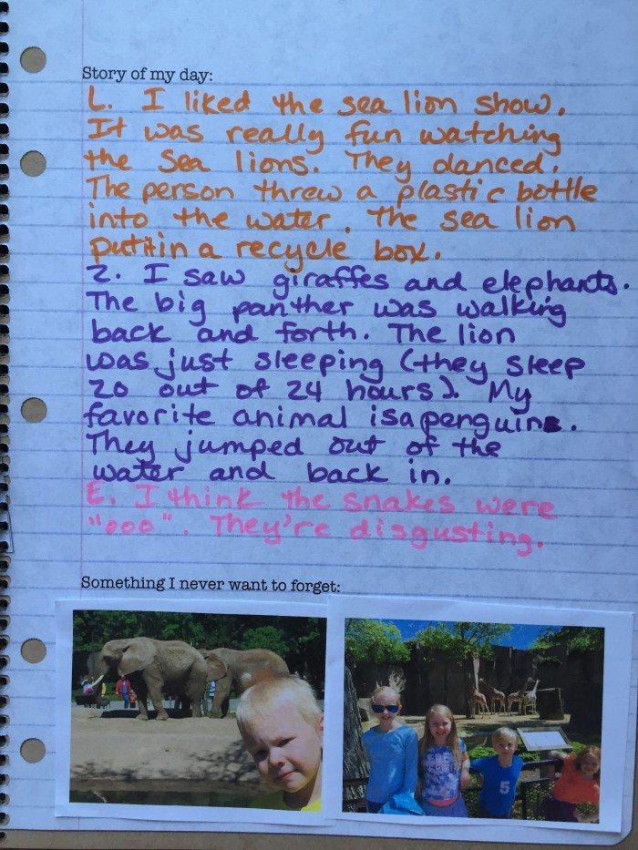Exploring Creation Field Trip Journal
