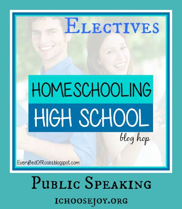 How to Include Public Speaking for Your Homeschool High School Years, drama, speech and debate