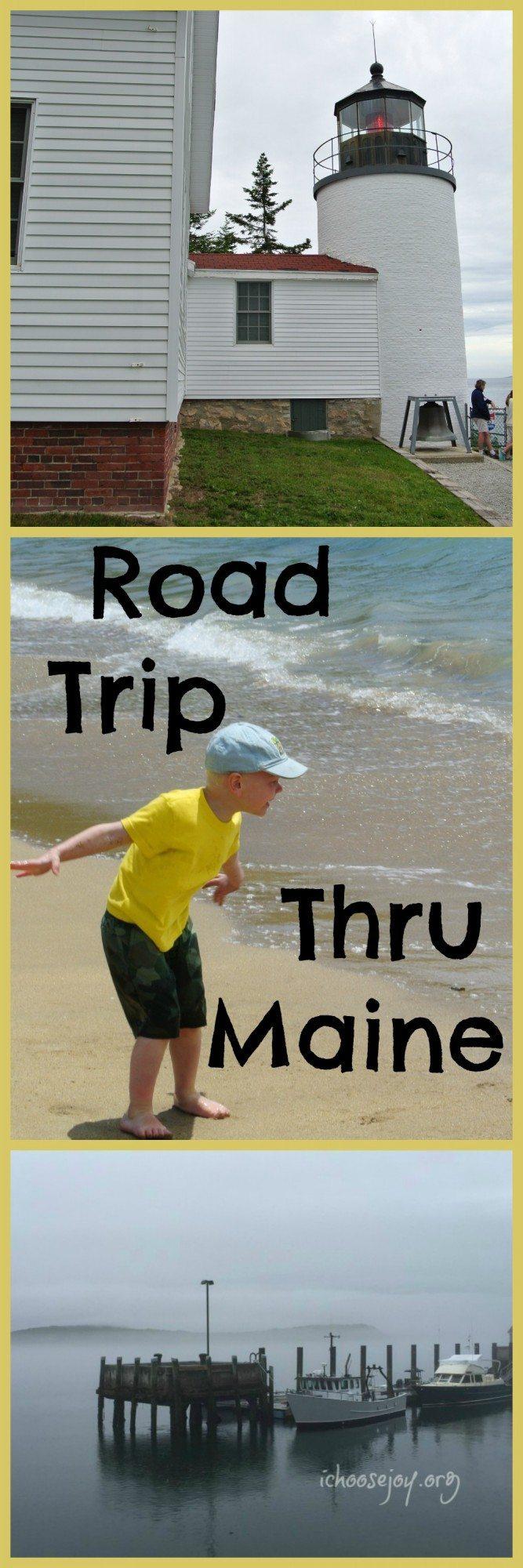 Road Trip Through Maine