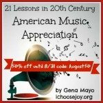 21 Lessons in 20th Century American Music Appreciation square August sale