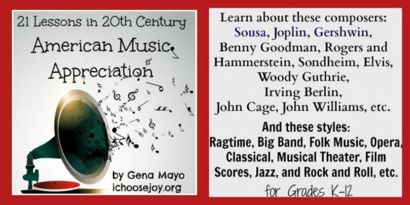 21 Lessons in 20th Century American Music Appreciation Twitter details