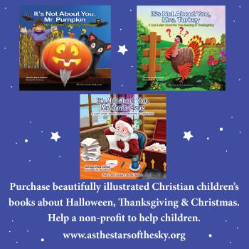 Christian Children Books about Halloween, Thanksgiving, & Christmas