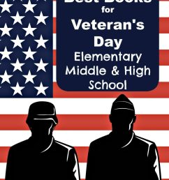 Veterans Day Book Ideas for Elementary [ 1369 x 1100 Pixel ]