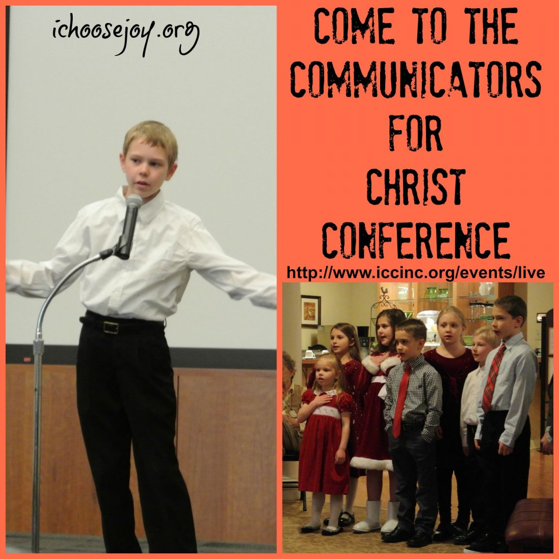 Come to the Communicators for Christ Conference!