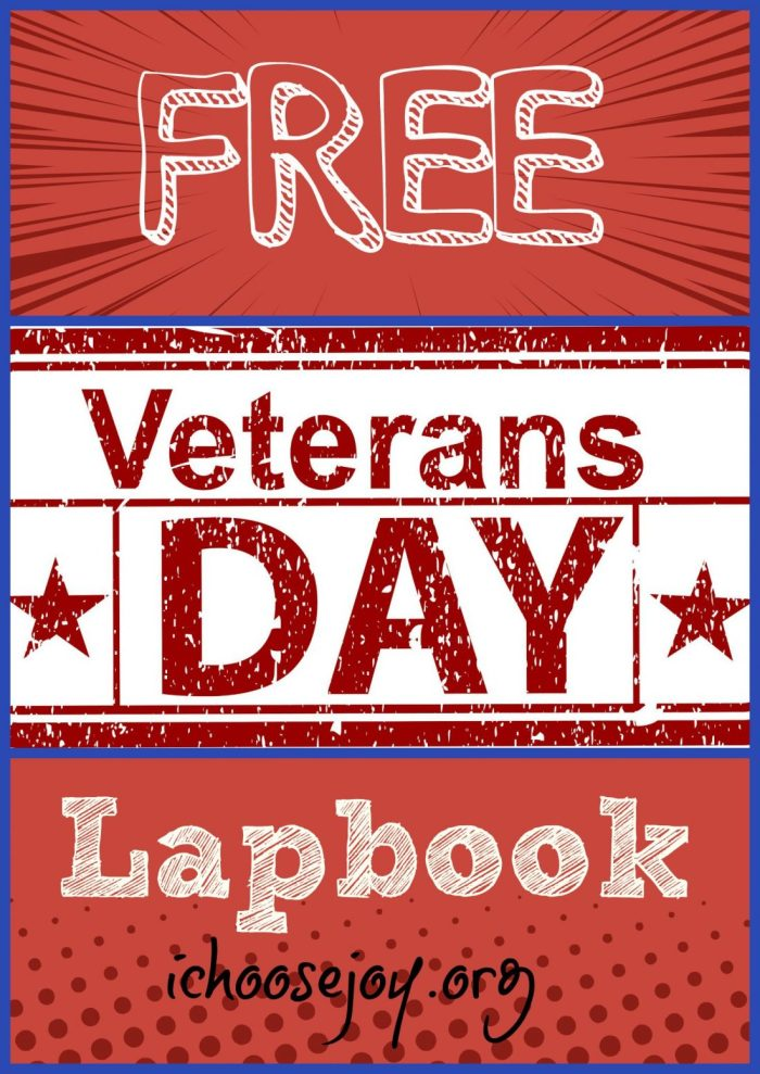 Free Veterans Day Lapbook