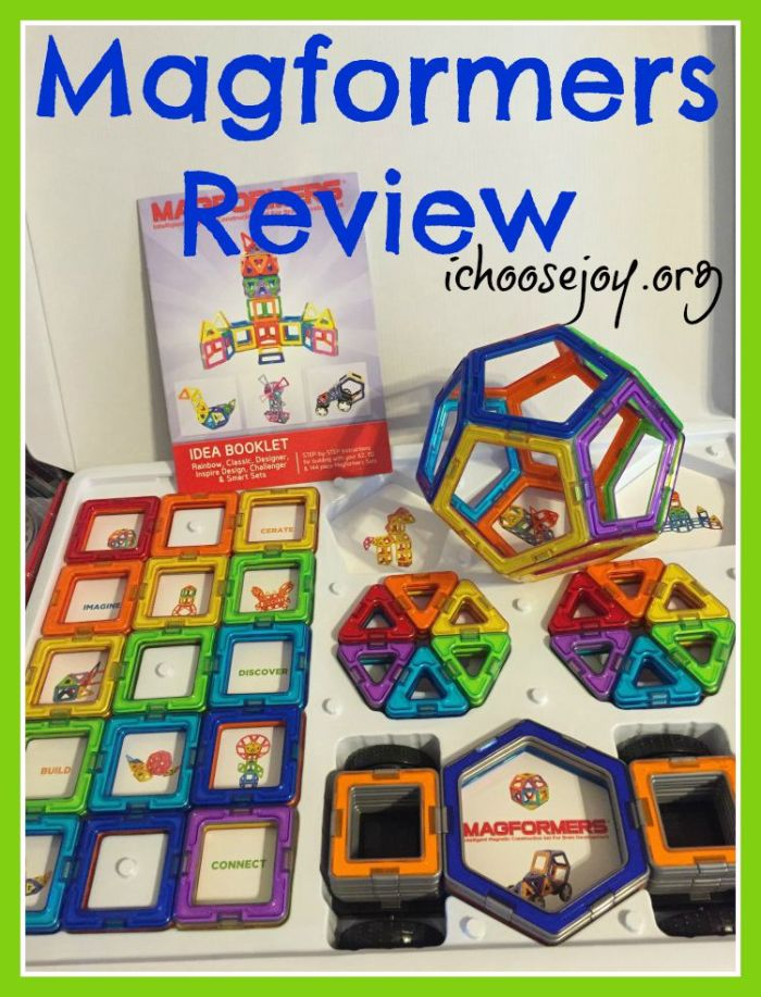 Review: Magformers Set- An awesome new building toy!