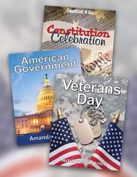 Unit Studies for Veterans Day, includes American Government and Constitution Celebration. #ichoosejoyblog #unitstudy #homeschool