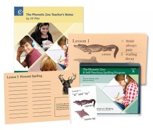 Phonetic Zoo Spelling Level B review ~ IEW spelling curriculum. #homeschool #homeschoolcurriculum #iew #ichoosejoyblog