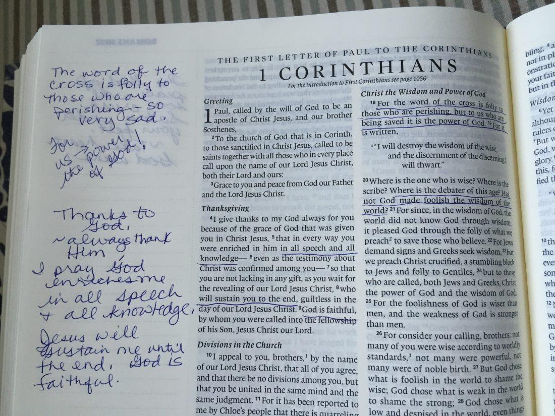 Review/ Giveaway: ESV Journaling Bible