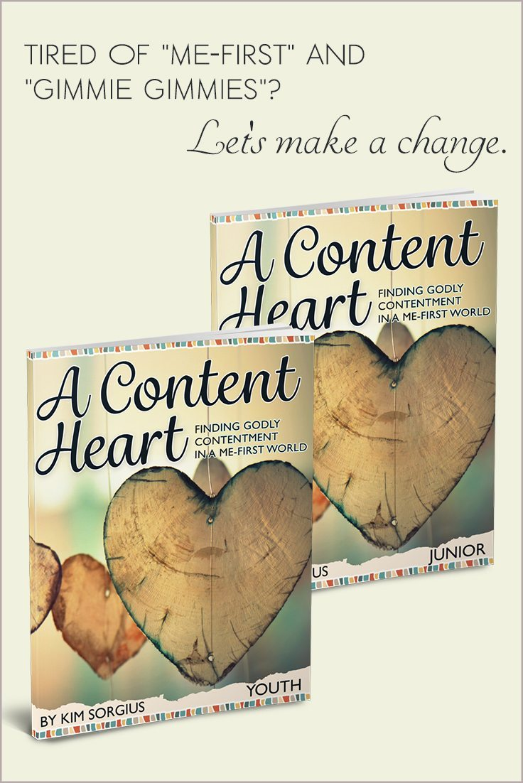 "Brand New: ""A Content Heart"" to teach your kids contentment"