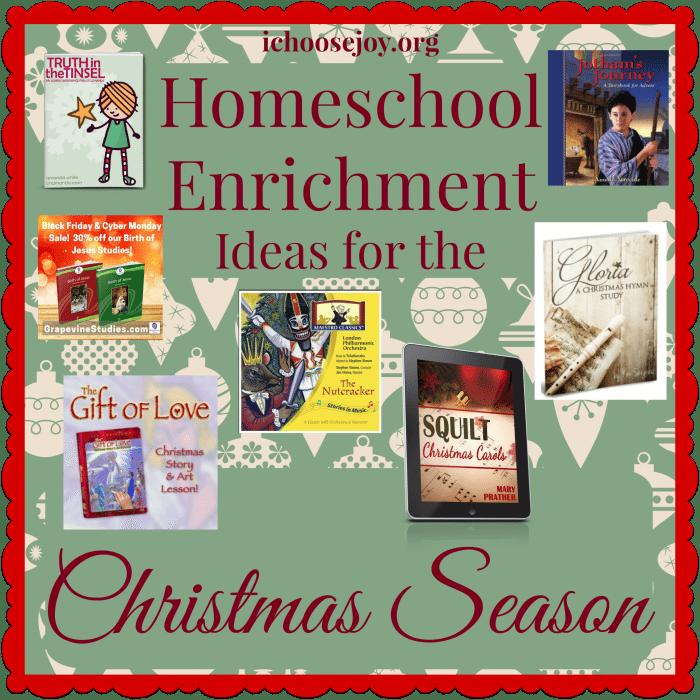 Homeschool Enrichment Ideas for the Christmas Season