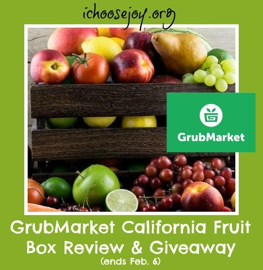 Grubmarket California Fruit Bounty Review and Giveaway