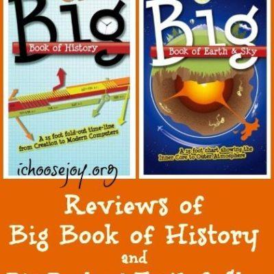 "Reviews of ""Big Book of History"" & ""Big Book of Earth & Sky"""