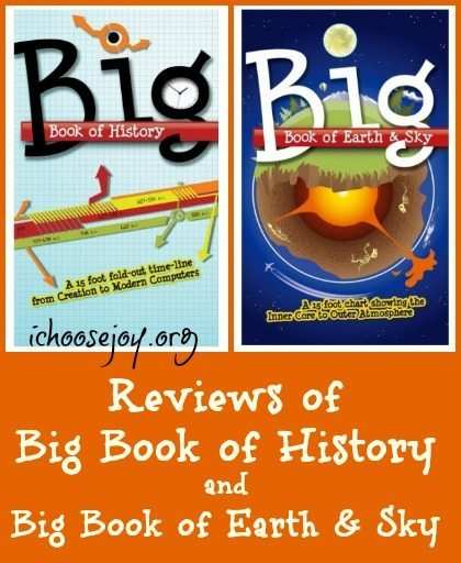 Reviews of Big Book of History and Big Book of Earth & Sky