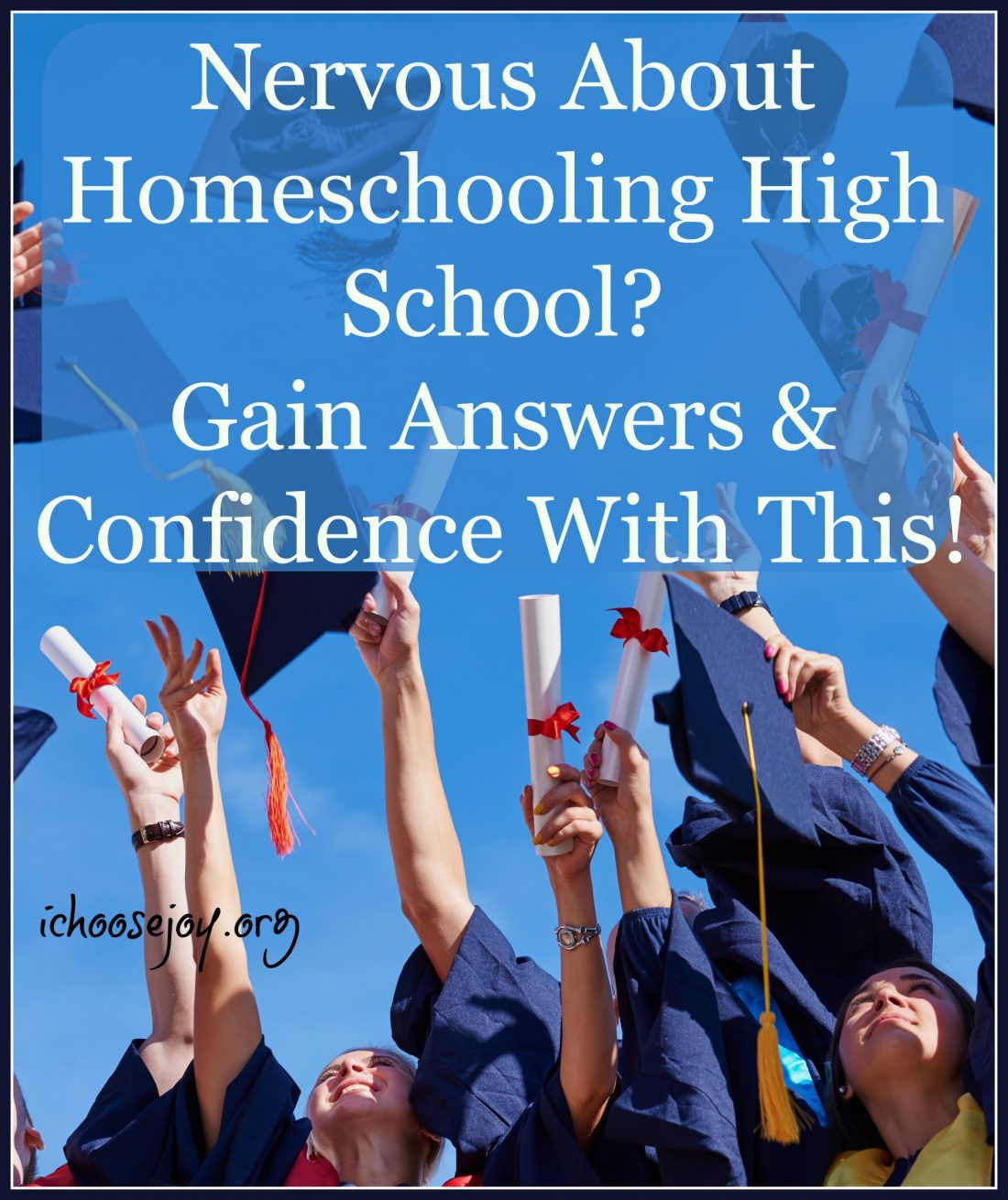 Nervous to Homeschool High School? You Can Do It with this self-paced course for parents!