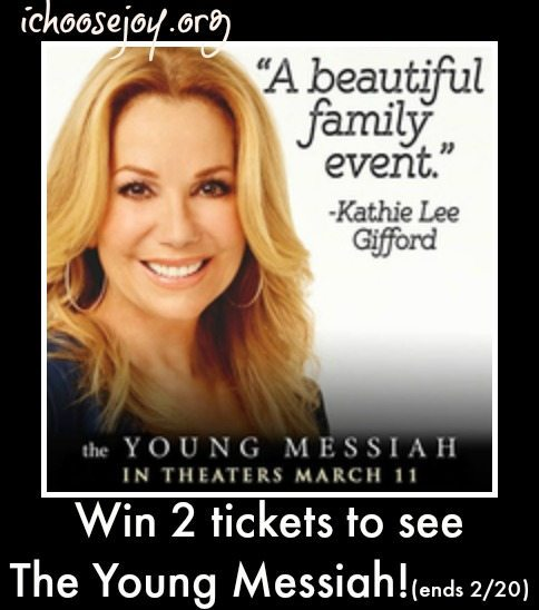 "Giveaway: ""The Young Messiah"" Tickets"