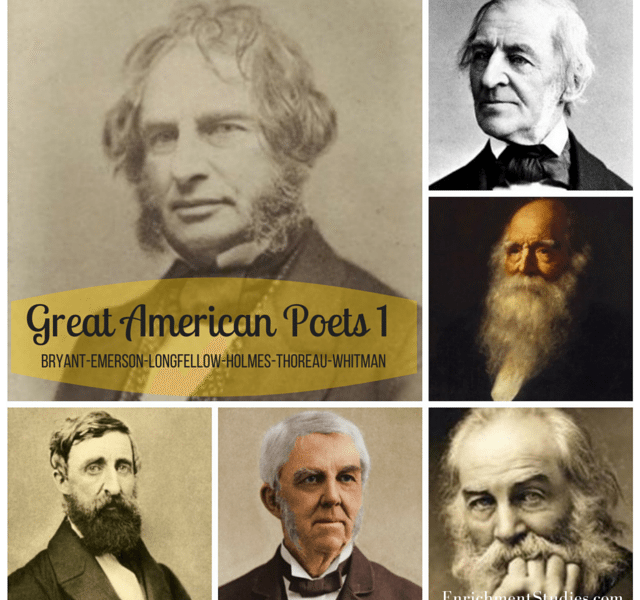 poetry resources from Enrichment Studies - Great American Poets