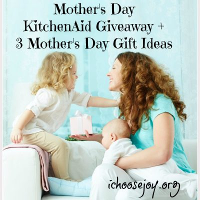 Mother's Day KitchenAid Giveaway + Plus 3 Mother's Day Gift Ideas
