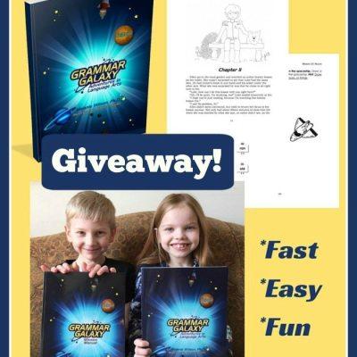 Grammar Galaxy Giveaway and Coupon Code