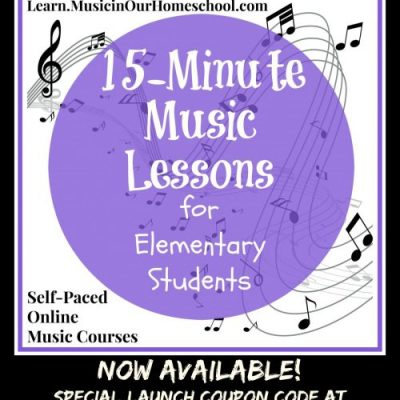 15-Minute Music Lessons for Elementary Students is now available!