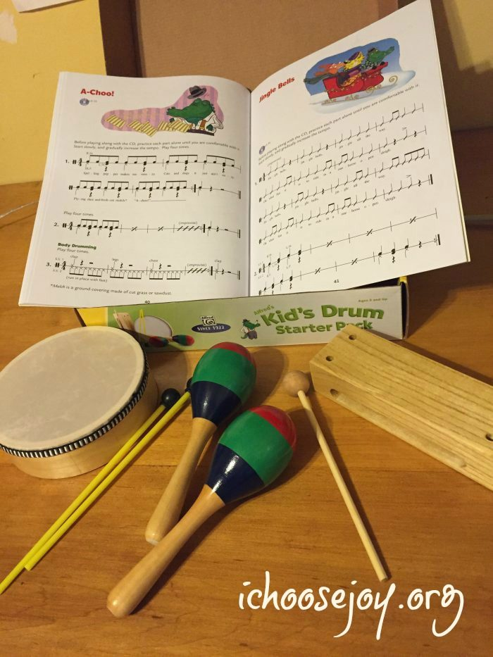 Alfred Kid's Drum Starter Kit review