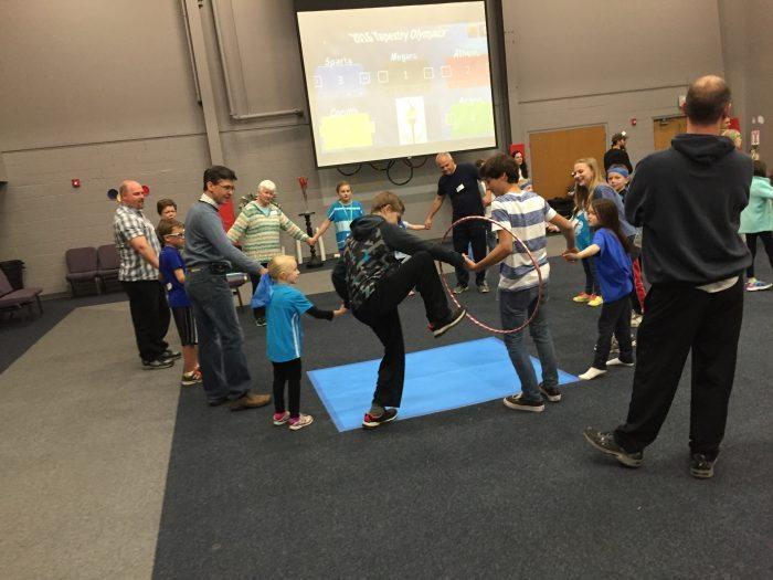 Slide the Hula Hoop game