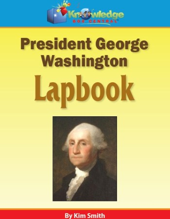 President George Washington lapbook