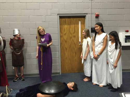 The Trojan Women play