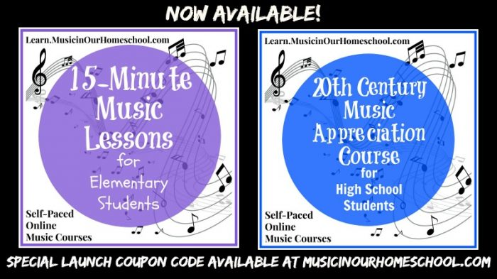 Learn.MusicinOurHomeschool.com online music courses