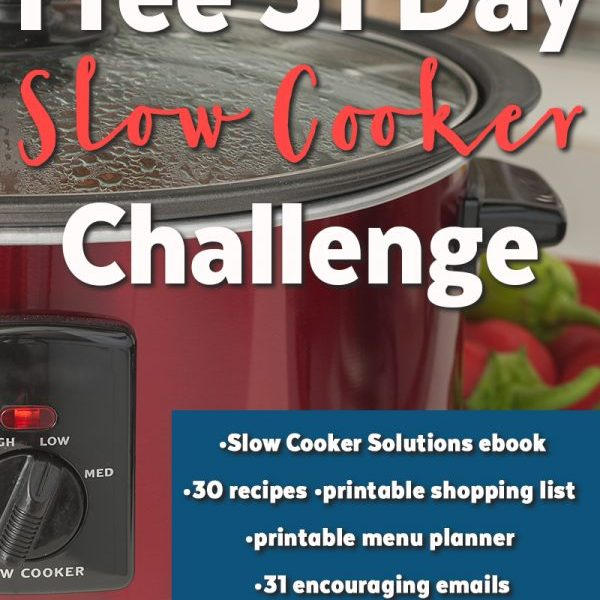 31 Day Slow Cooker Challenge and enter to win an Instant Pot