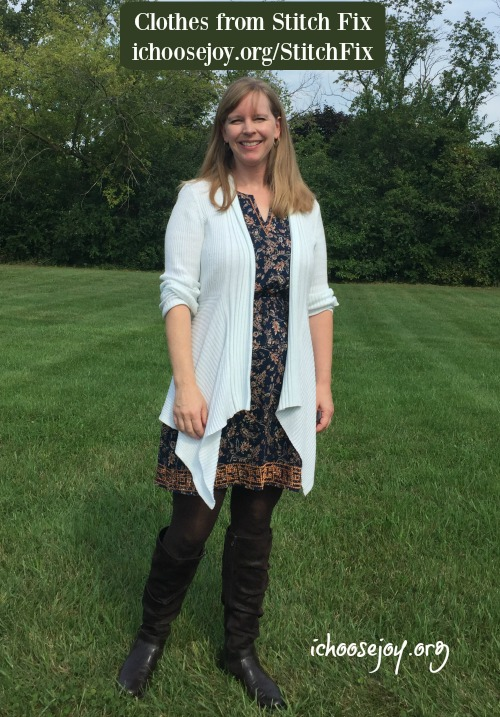Clothes from Stitch Fix - dress