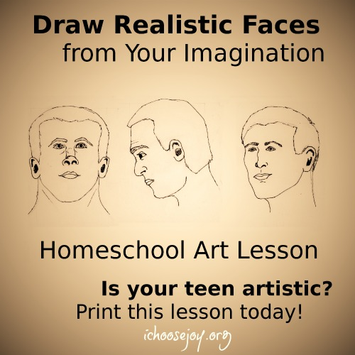 Draw Realistic Faces from Your Imagination: Free Art Lesson