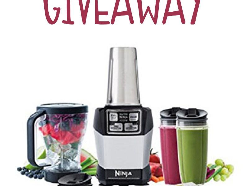 Ninja Nutri Blender giveaway