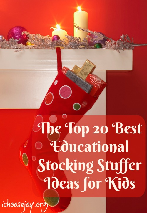 The Top 20 Best Educational Stocking Stuffer Ideas for Kids