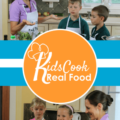 Kids Cook Real Food All-Access Course!