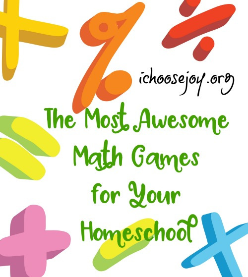 The Most Awesome Math Games for Your Homeschool