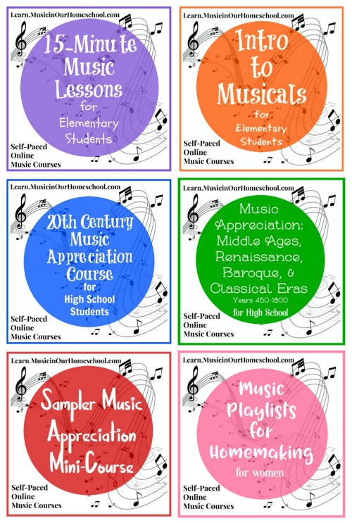 Online Music Courses at Music in Our Homeschool