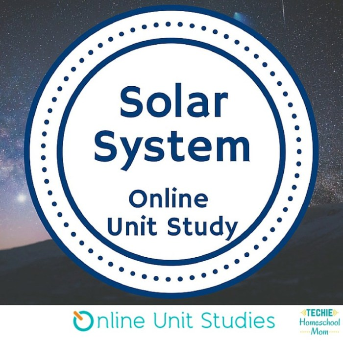 Giveaway: Online Unit Studies Solar System Study!