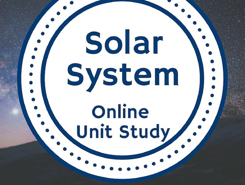 Enter to win the Solar System Online Unit Study