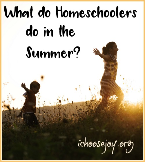 What do Homeschoolers do in the Summer?