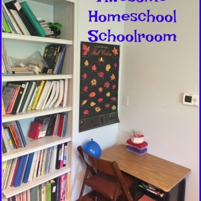 5 Tips for an Awesome Homeschool Schoolroom