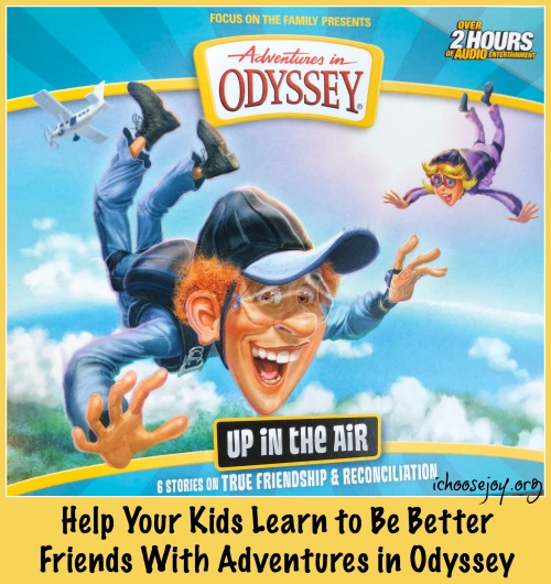 Help Your Kids Learn to Be Better Friends With Adventures in Odyssey