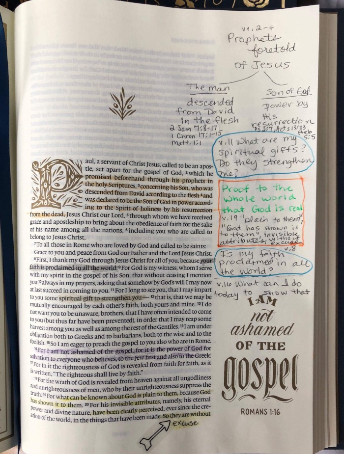 ESV Illuminated Bible: Art Journaling Edition review. Use this gorgeous Bible to get better connected to God.