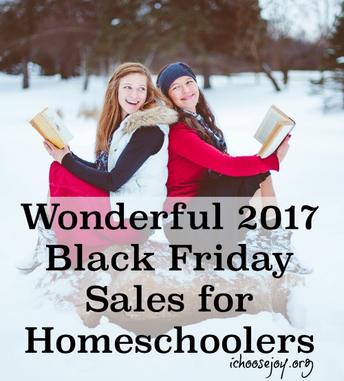 Wonderful 2017 black friday sales for homeschoolers i choose joy wonderful 2017 black friday sales for homeschoolers huge list of sales coupon codes fandeluxe Images