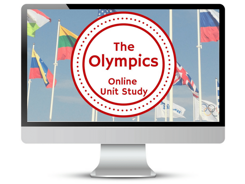 Olympics Online Unit Study from Techie Homeschool Mom