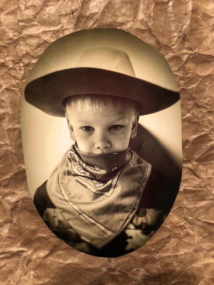 Studying the Old West at our Tapestry of Grace homeschool co-op