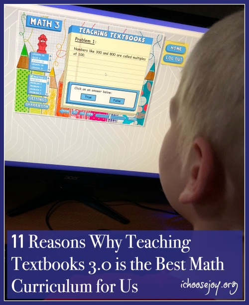 11 Reasons Why Teaching Textbooks 3 0 is the Best Math