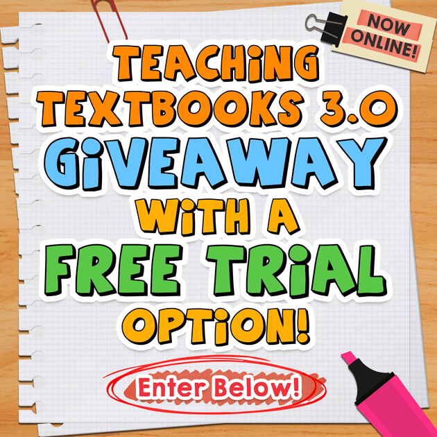 Teaching Textbooks Giveaway with Free Trial Option